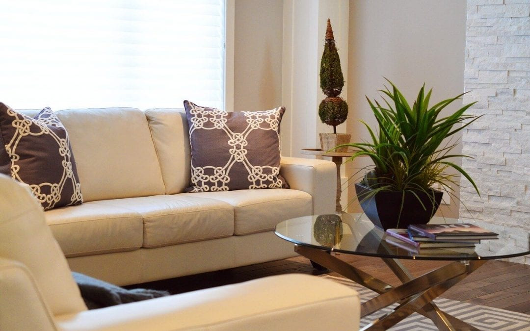 declutter your home to enjoy calming living spaces